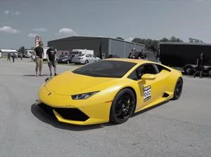 Lamborghini Huracán con 2,500 hp rompe récord de aceleración