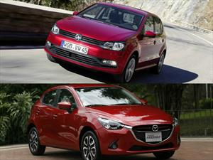 VW Polo VS. Mazda 2 - Comparativa-