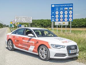 Audi A6 TDI Ultra logra récord Guinness en consumo de combustible