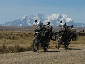 Viajando por toda Suramérica en una Himalayan