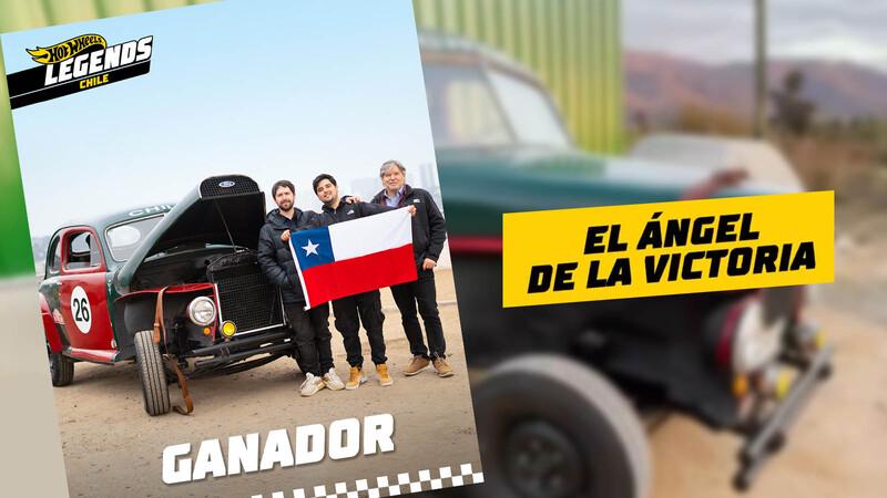 El Ángel de la Victoria es el auto ganador de Hot Wheels Legends Chile 2021