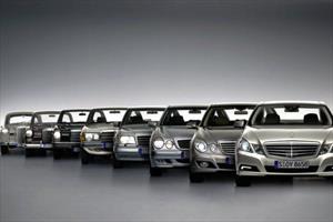5 modelos de Mercedes-Benz a través del tiempo