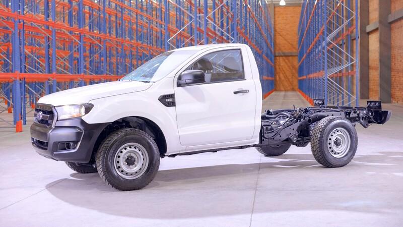 Nueva Ford Ranger Chasis en Colombia