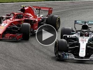 Video: Las mejores batallas de la F1 en 2018