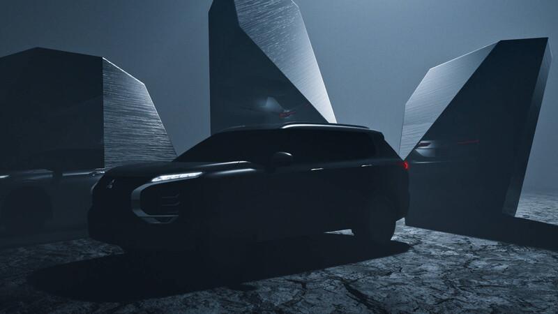 El teaser que nos muestra el futuro Mitsubishi Outlander