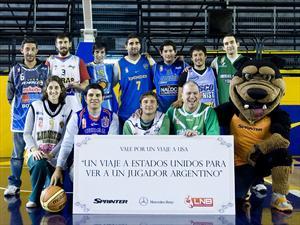 Mercedes-Benz Sprinter premia a los fanáticos del basquet