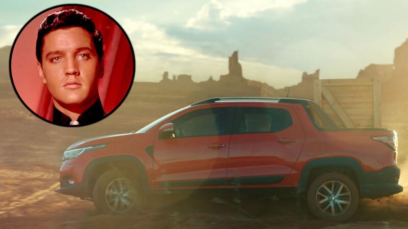 FIAT convoca a Elvis para promocionar la nueva Strada