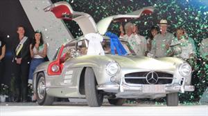 Mercedes-Benz 300 SL Alas de Gaviota 1955 es el Best of Show