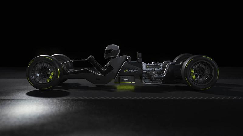 Peugeot Sport revela algunos detalles de su hypercar que competirá en el WEC