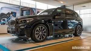 BMW X5 xDrive 45e, el híbrido enchufable se lanzó en la antesala de la Fórmula E