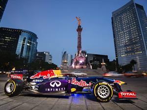Los F1 de Infiniti Red Bull Racing se presentarán en el Zócalo de la Cd de México