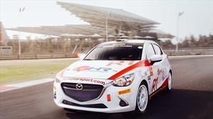 Mazda2 R1 Rally a prueba