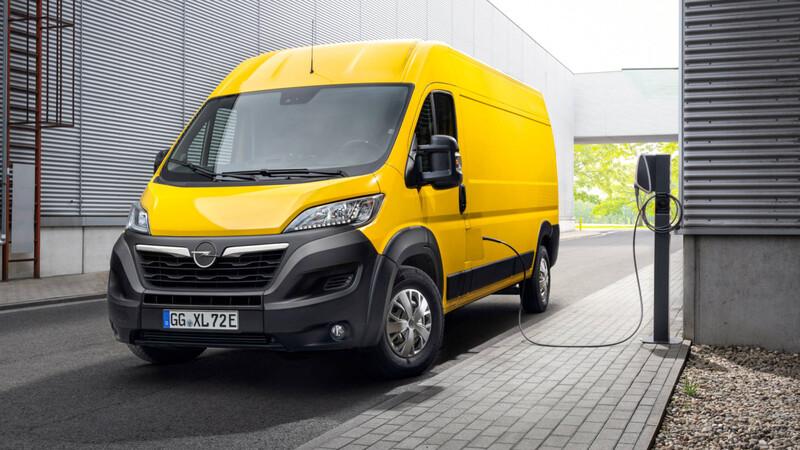 Opel anticipa los furgones eléctricos grandes de Stellantis