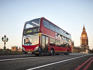 Buses en Londres prefieren el café a la gasolina