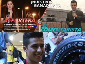 Ganadores de concurso de Bridgestone estarán en la final de la Copa Libertadores
