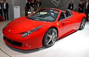 Ferrari 458 Spider 2012: Fotografías en vivo