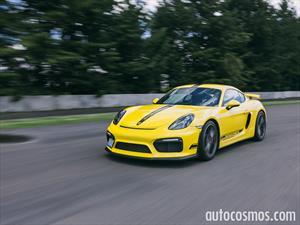 Porsche Cayman GT4 2015 a prueba