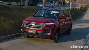 Primer contacto con la Chevrolet Captiva 2022