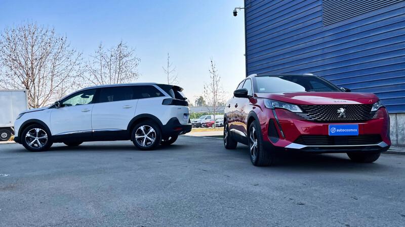 Peugeot 3008 vs. 5008: ¿cuál de los dos me conviene más?