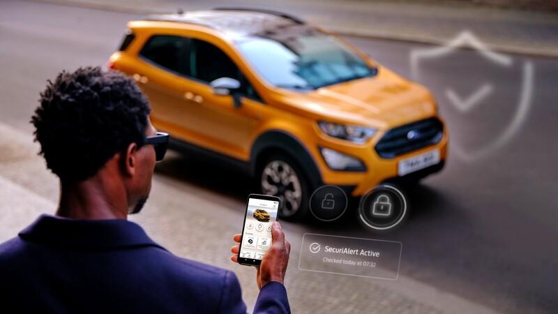 Ford crea una aplicación que te avisa si te quieren robar el auto