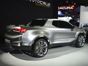 Hyundai Santa Cruz Crossover Truck Concept, un pick up vanguardista