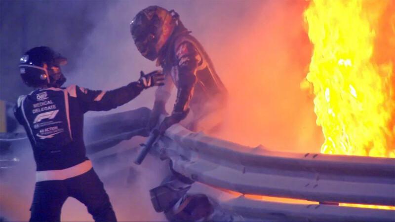 F1 GP de Bahrain 2020: Una carrera en llamas