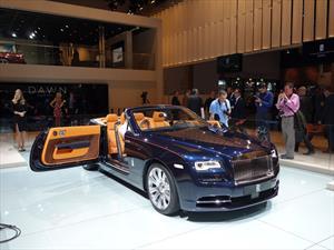 Rolls-Royce Dawn, el nuevo convertible de la casa británica