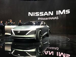 Nissan IMs Concept, refinado crossover eléctrico japonés