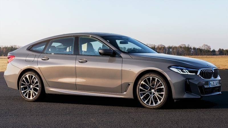 BMW Serie 6 GT 2021, renovación cargada de confort y deportividad