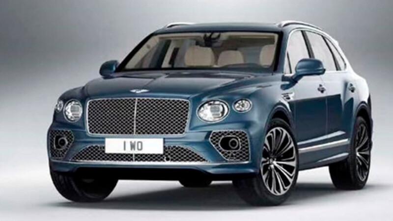 El facelift del Bentley Bentayga se filtra en redes sociales