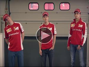 Clases de Mexicano para Ferrari antes del GP de México