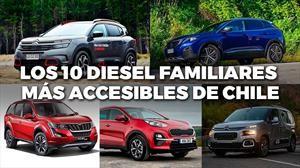 Top 10: los vehículos familiares más accesibles con motores diesel