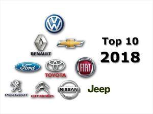 Top 10: Las marcas más vendedoras de 2018