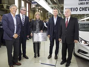 Se inauguró la línea de producción del Nuevo Chevrolet Cruze