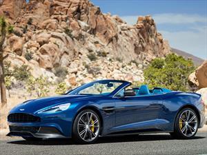 Aston Martin Vanquish Volante 2014, cereza del postre