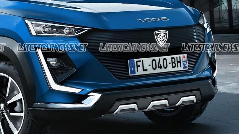 Peugeot 1008, así sería el nuevo SUV chico que se vendería en Argentina