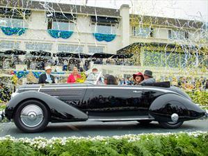 Lancia Astura Pinin Farina Cabriolet 1936 el mejor de Pebble Beach 2016