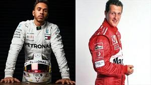 ¿Está Hamilton a la altura de Schumacher?