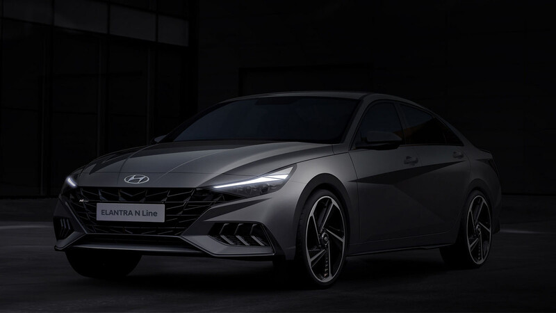 Hyundai Elantra N Line 2021, mayor deportividad