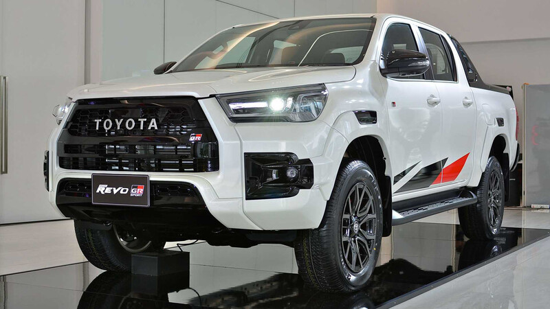 Así es la nueva Toyota Hilux GR Sport