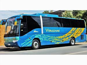 Empresas Verschae confía su prestigio en buses Higer