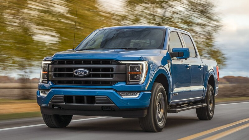 Ford F-150 Lobo PowerBoost 2021 es la pickup de tamaño completo a gasolina con el mejor consumo