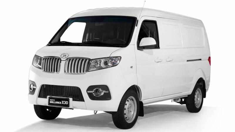 Brilliance ataca el segmento de furgones con el X30