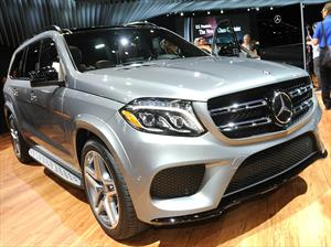 Mercedes-Benz GLS 2016, modernizan el SUV germano