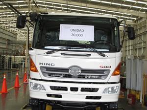 Hino Motors Manufacturing llegó a las 20.000 unidades