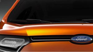 Ford anticipará la nueva EcoSport en el Salón de Nueva Delhi