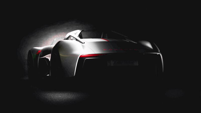 """Porsche revela un inedito teaser para el """"Little Rebel"""", un deportivo que no vio la luz"""