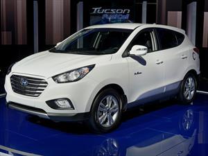 Hyundai Tucson Fuel Cell 2016, con nuevos colores y componentes