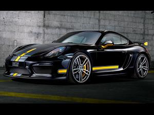 Porsche Cayman GT4 by TechArt debuta