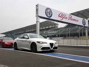 Manejamos la gama de Alfa Romeo en pista